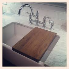 farmhouse sink cutting board before and after brookside kitchen ideas