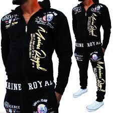 <b>Zogaa Brand Men</b> 2 Piece Set <b>Track</b> Suit <b>Mens</b> Hooded Sweatshirts ...