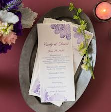 avery wedding templates printing your own diy wedding programs is easy with avery menu cards