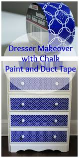 duct tape furniture. Duct Tape Dresser Collage Furniture