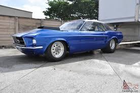 Mustang Drag Racing Car