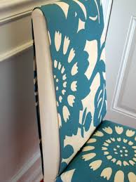 how to make removable dining chair covers loveyourroom my morning slip cover chair project using remnant fabric no sewing needed
