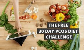 Pcos Diet Chart For Weight Loss The 30 Day Pcos Diet Challenge Meal Plans Recipes