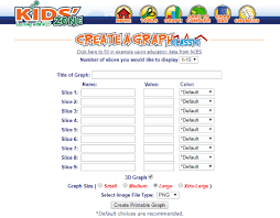 Create A Pie Chart Kidzone 10 Online Pie Chart Maker Websites Free