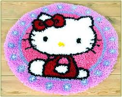 latch hook rug patterns hello kitty kit for latch hook rug patterns