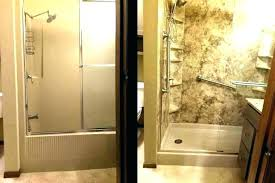 portable bathtub for shower stall to convert showe