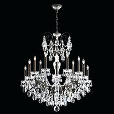 schonbek chandeliers exciting your house design sonatina light crystal chandelier with