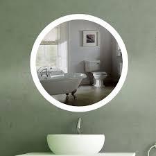 Wandspiegel Beleuchtet Rund Led R 405 Gäste Bad Badspiegel Led