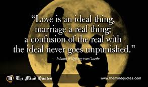 Goethe Quotes Enchanting Johann Wolfgang Von Goethe Quotes On Love And Marriage