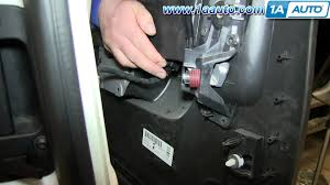 how to install remove rear door panel 2007 13 chevy silverado extended cab you