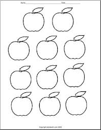 Apple Pattern New Apple Patterns Printable Cut Outs Abcteach