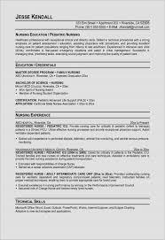 Nursing Graduate Resume Example Of Professional Nursing Resume Resume Fortthomas