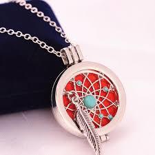 Dream Catchers Inc Dream Catcher' Locket Necklace Diffuser Everlasting Essence Inc 100