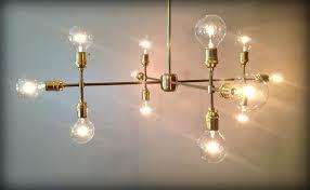 custom made modern contemporary light sculpture multiple light edison bulb chandelier lamp starburst contemporary light chandelier contemporary chandelier