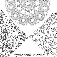 Small Picture How to Color Psychedelic Coloring Pages The Coloring Book Club