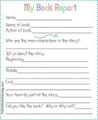 Free Book Report Templates Image Result For Free Book Review Template For Kids Summer School