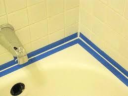 home improvement does bathtub caulking tape work