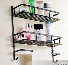 oil rubbed bronze bathroom caddy. wholesale and retail promotion oil rubbed bronze bathroom shelf dual tiers caddy basket storage w/ l