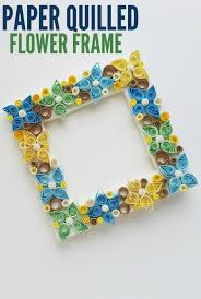 Paper Quilling Flower Frames Paper Quilled Flower Frame Family Food And Travel