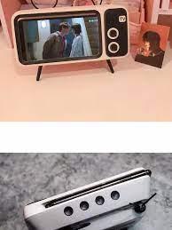 Loa bluetooth kiểu dáng tivi âm thanh cực hay thiết kế độc lạ (loa mini, loa  bluetooth mini, LOA BLUETOOTH 5 IN 1)