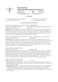 Cover Letter Sample It Project Manager Resume Sample Non It
