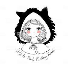 かわいい女の子とオオカミ 1人のベクターアート素材や画像を多数ご用意