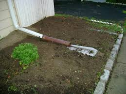 Exterior Downspout Drainage Idea Roof Drain Install Pipe House - Exterior drain pipe