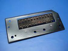 porsche 914 oem fuse box panel bracket 914 612 315 10