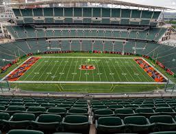 Paul Brown Stadium Section 310 Seat Views Seatgeek