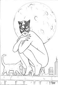 Small Picture Batman And Catwoman Coloring Pages Coloring Pages