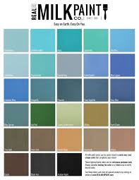 Shades Of Blue Paint Color Chart Real Milk Paint Color Chart Real Milk Paint