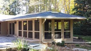 screened porches fresh screened porch addition siding unlimited siding window