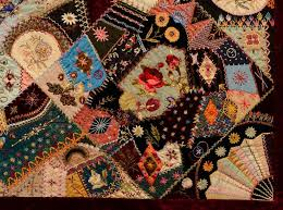 278 best Antique Crazy Quilts images on Pinterest | Crazy quilting ... & Extraordinary Victorian Crazy Quilt Adamdwight.com