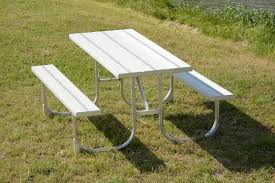 aluminum picnic tables. Aluminum Picnic Table Pond King Within Benefits Of Outdoor Furniture Tables