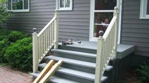 outdoor metal stair railing. Porch Railing Home Depot Front Outdoor Metal Stair Railings