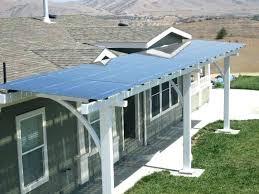 solar panel patio cover post diy solar panel patio cover