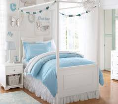 stylish kids canopy bed with fillmore canopy bed pottery barn kids