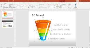 Funnel Powerpoint Template Free Free 3d Funnel Analysis Powerpoint Template