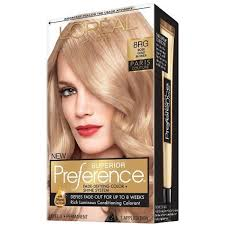 Pref Haircol Rose Gold Bl Size