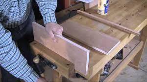 edging hardwood plywood with solid lumber