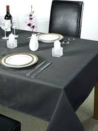 120 black round plastic tablecloth table clothes get ations a luxury chequers design inch large dining
