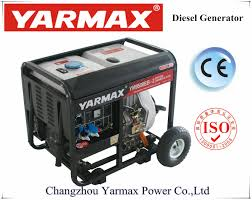 honda diesel generator. Yarmax AC Single Phase 5kVA 6kVA Diesel Powered Electricity Generator Price List Ym8500eb-II Honda