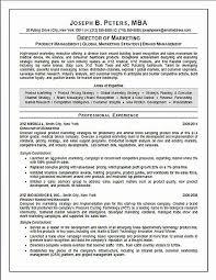 New Executive Resume Sample Awesome Director Of Marketing Resume
