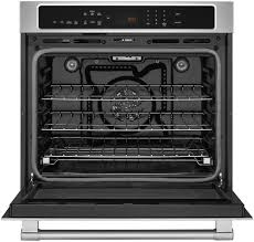 maytag mew9527fz electric wall oven from maytag maytag mew9527fz open view