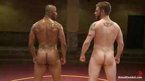 Black men nude wrestling