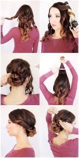 easy wedding guest hairstyles. diy wedding guest hairstyles easy w
