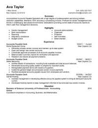 tax specialist resume