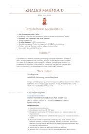 Site Engineer Resume samples
