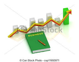 Red Book Growth Chart Book Business Pen And Graph
