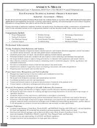 Sample Engineering Resume Moa Format